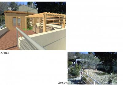 Extention sur Jardin