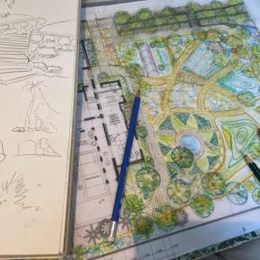 Sketching ellearchitecture